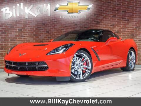2016 Chevrolet Corvette for sale at Bill Kay Corvette's and Classic's in Downers Grove IL