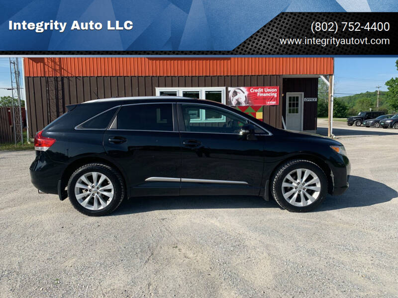 2013 Toyota Venza for sale at Integrity Auto 2.0 in Saint Albans VT