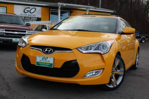 2012 Hyundai Veloster for sale at Go Auto Sales in Gainesville GA