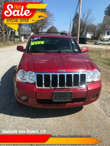 2010 Jeep Grand Cherokee for sale at Shamrock Auto Brokers, LLC in Belmont NH