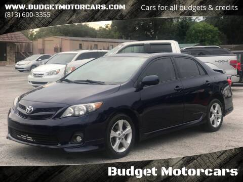 2011 Toyota Corolla for sale at Budget Motorcars in Tampa FL
