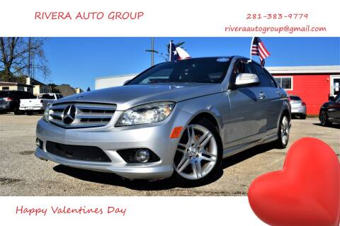 2009 Mercedes-Benz C-Class for sale at Rivera Auto Group in Spring TX
