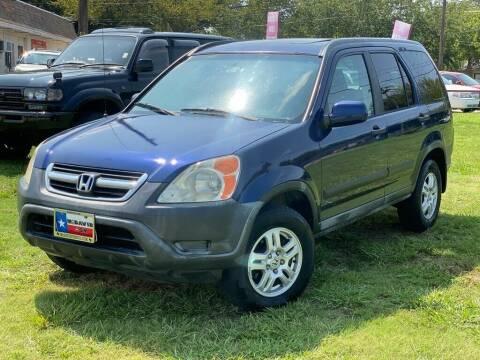 2002 Honda CR-V for sale at Cash Car Outlet in Mckinney TX