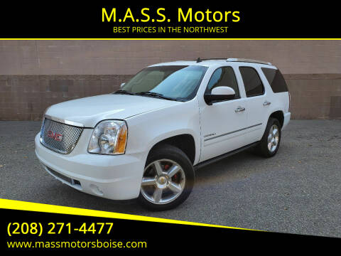2012 GMC Yukon for sale at M.A.S.S. Motors in Boise ID
