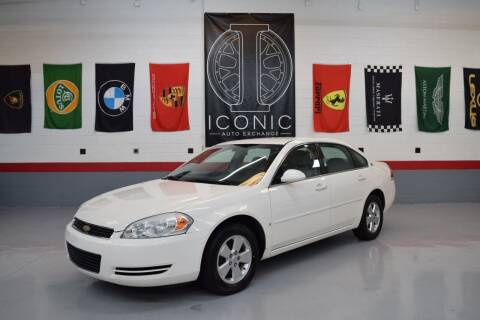 2007 Chevrolet Impala for sale at Iconic Auto Exchange in Concord NC
