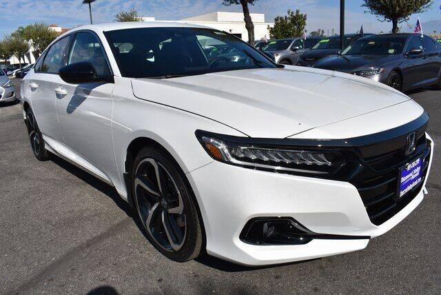 2021 Honda Accord for sale in Hemet, CA
