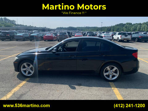 2014 BMW 3 Series for sale at Martino Motors in Pittsburgh PA