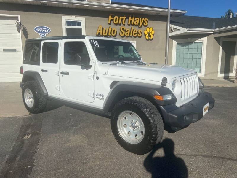 2018 Jeep Wrangler Unlimited for sale at Fort Hays Auto Sales in Hays KS