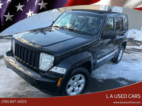 2012 Jeep Liberty for sale at L A Used Cars in Abington MA