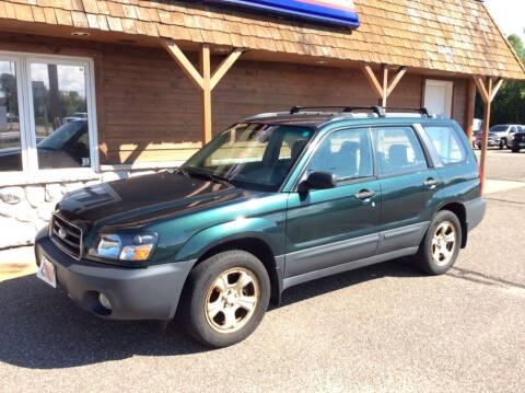 2003 Subaru Forester for sale at MOTORS N MORE in Brainerd MN