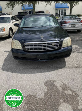 2004 Cadillac DeVille for sale at Zak Motor Group in Deerfield Beach FL