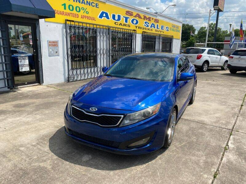 2011 Kia Optima for sale at Sam's Auto Sales in Houston TX