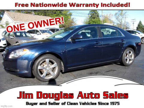 2011 Chevrolet Malibu for sale at Jim Douglas Auto Sales in Pontiac MI