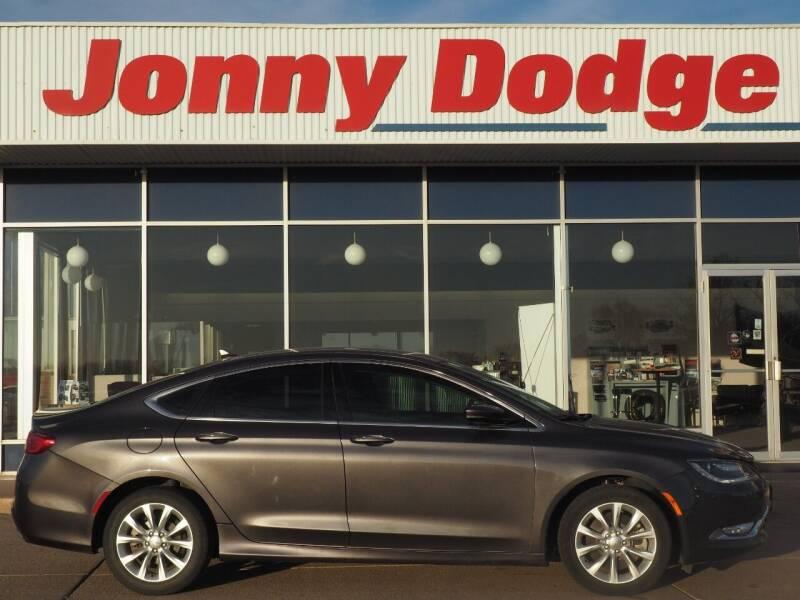 2015 Chrysler 200 for sale at Jonny Dodge Chrysler Jeep in Neligh NE