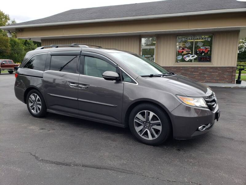 2014 Honda Odyssey for sale at RPM Auto Sales in Mogadore OH