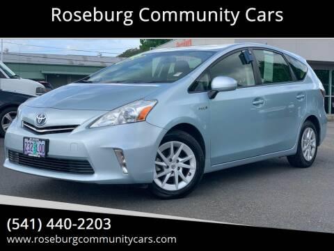 2014 Toyota Prius v for sale at Roseburg Community Cars in Roseburg OR