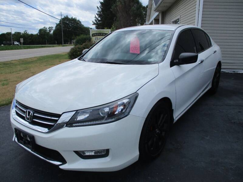 2014 Honda Accord for sale in Springfield, WI