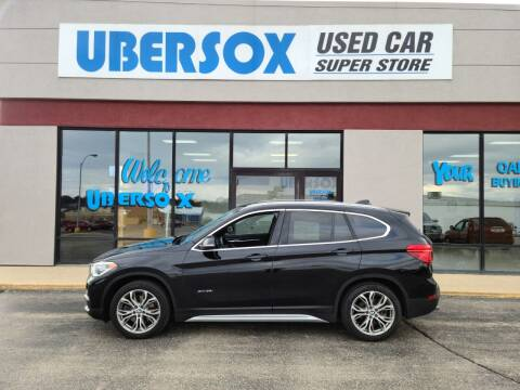 2017 BMW X1 for sale at Ubersox Used Car Superstore in Monroe WI