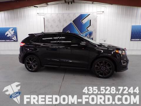 2015 Ford Edge for sale at Freedom Ford Inc in Gunnison UT