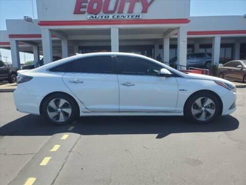 2016 Hyundai Sonata Hybrid for sale at EQUITY AUTO CENTER in Phoenix AZ