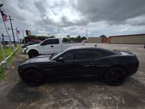 2012 Chevrolet Camaro for sale at BIG 7 USED CARS INC in League City TX