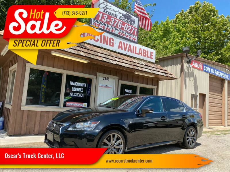 2013 Lexus GS 350 for sale at Oscar's Truck Center, LLC in Houston TX