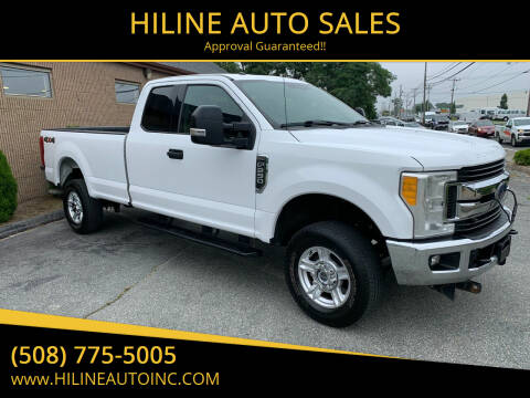 2017 Ford F-250 Super Duty for sale at HILINE AUTO SALES in Hyannis MA