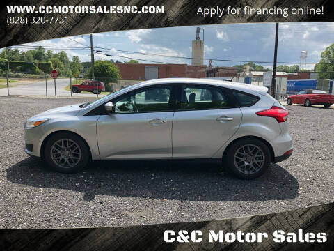 2016 Ford Focus for sale at C&C Motor Sales LLC in Hudson NC