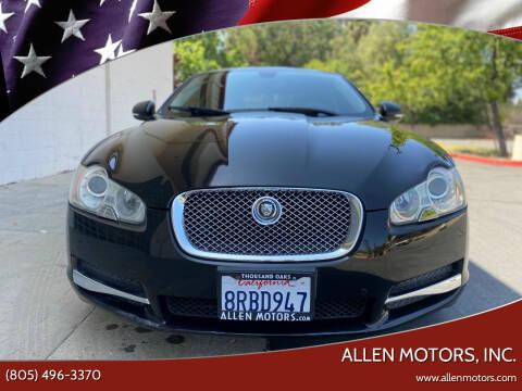 2010 Jaguar XF for sale at Allen Motors, Inc. in Thousand Oaks CA