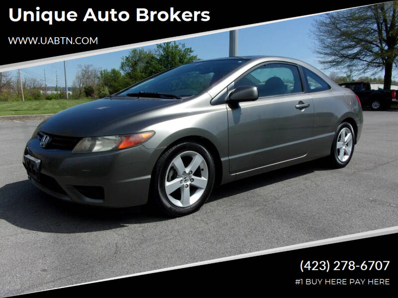 2007 Honda Civic for sale at Unique Auto Brokers in Kingsport TN