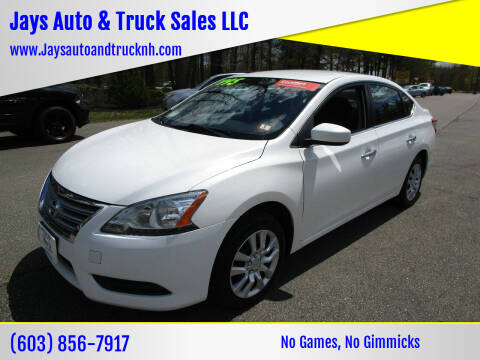 2014 Nissan Sentra for sale at Jays Auto & Truck Sales LLC in Loudon NH