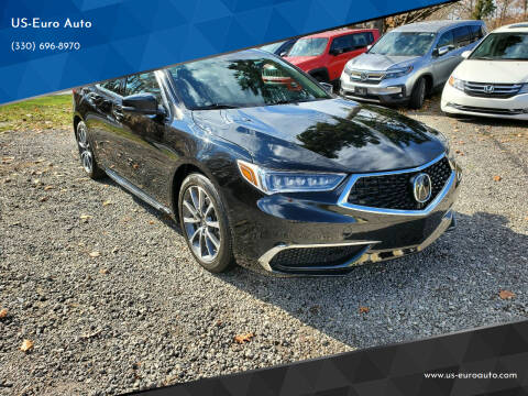 2018 Acura TLX for sale at US-Euro Auto in Burton OH