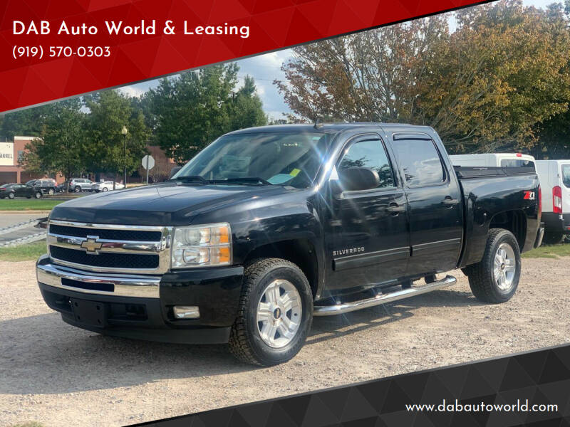 2011 Chevrolet Silverado 1500 for sale at DAB Auto World & Leasing in Wake Forest NC