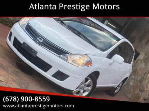 2012 Nissan Versa for sale at Atlanta Prestige Motors in Decatur GA