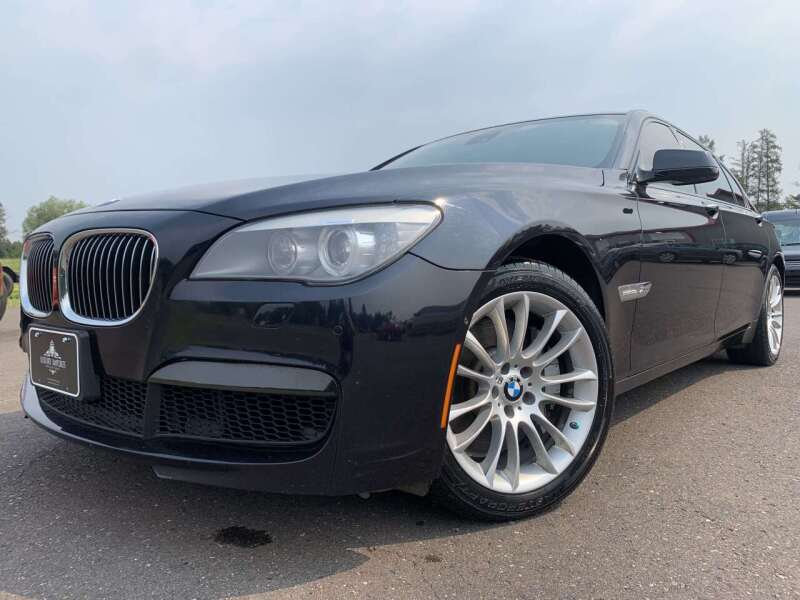 2012 BMW 7 Series for sale at Autobahn Sales And Service LLC in Hermantown MN
