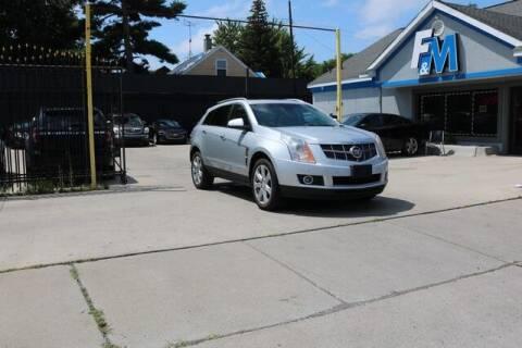 2010 Cadillac SRX for sale at F & M AUTO SALES in Detroit MI