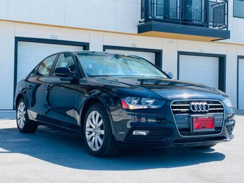 2014 Audi A4 for sale at Avanesyan Motors in Orem UT