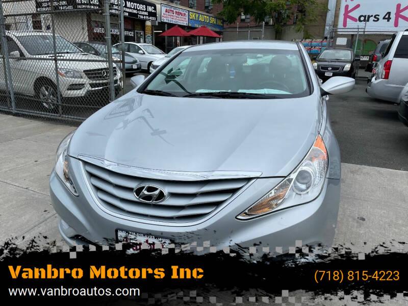 2013 Hyundai Sonata for sale at Vanbro Motors Inc in Staten Island NY