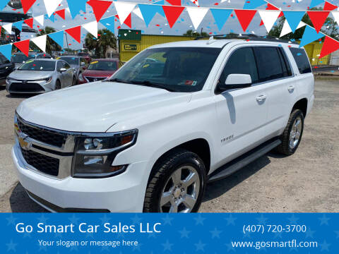 2016 Chevrolet Tahoe for sale at Go Smart Car Sales LLC in Winter Garden FL