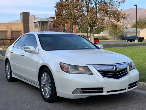 2011 Acura RL for sale at A.I. Monroe Auto Sales in Bountiful UT