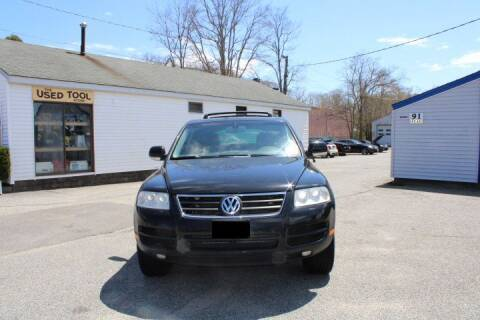 2005 Volkswagen Touareg for sale at HYANNIS FOREIGN AUTO SALES in Hyannis MA