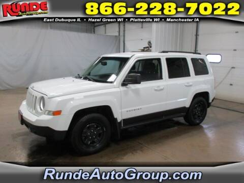 2016 Jeep Patriot for sale at Runde Chevrolet in East Dubuque IL