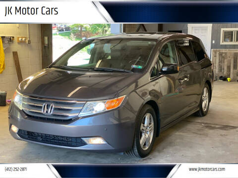 2013 Honda Odyssey for sale at JK Motor Cars in Pittsburgh PA