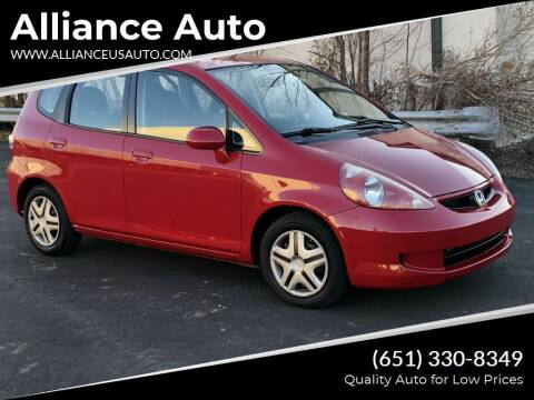 2008 Honda Fit for sale at Alliance Auto in Newport MN