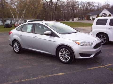 2015 Ford Focus for sale at LAKESIDE MOTORS LLC in Houghton Lake MI