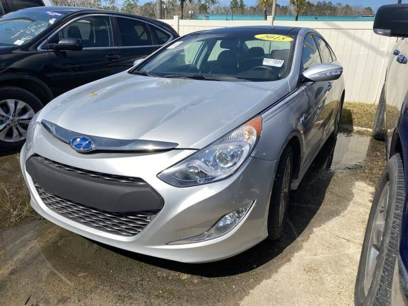 2015 Hyundai Sonata Hybrid for sale at Direct Auto in D'Iberville MS