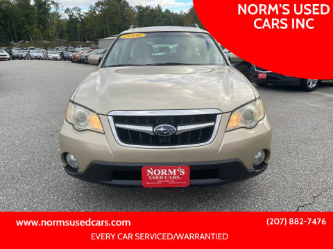 2008 Subaru Outback for sale at NORM'S USED CARS INC in Wiscasset ME