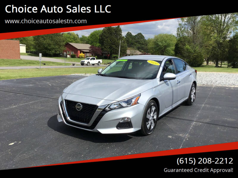 2020 Nissan Altima for sale at Choice Auto Sales LLC - Cash Inventory in White House TN