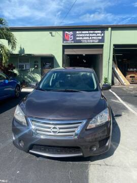 2014 Nissan Sentra for sale at MLG Auto Group Inc. in Pompano Beach FL