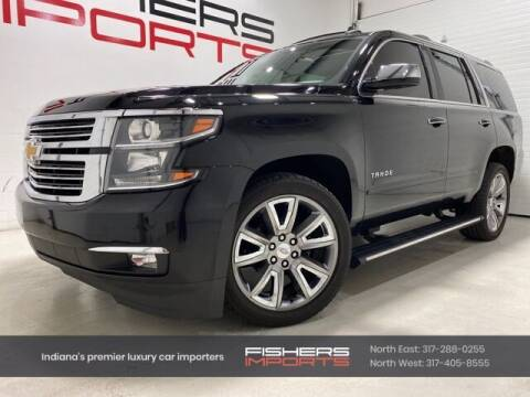 2015 Chevrolet Tahoe for sale at Fishers Imports in Fishers IN